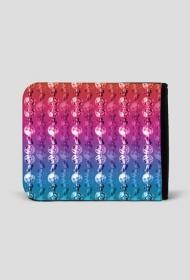 Tęcza koralików - portfel