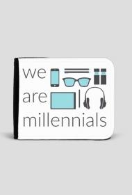 We are millenials - portfel