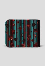 Roses&stripes - portfel