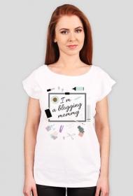 Blogging mommy - t-shirt oversize