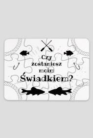 Puzzle dla świadka - ryba na haczyku