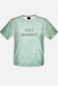 Just Married - męski t-shirt