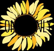 Słonecznik - damski t-shirt