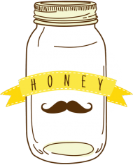 "Słoik ""Honey"" - kubek"