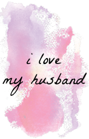 I love my husband - kubek