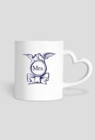 Monogram Mrs. - kubek