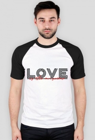 Love - t-shirt męski