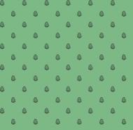 Maseczka w szyszki - zielona