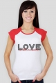Love - t-shirt damski