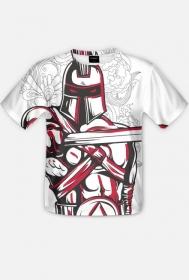 Fullprint - Wojownik - koszulka z pełnym nadrukiem