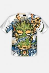 Fullprint - Zew smoka - koszulka z pełnym nadrukiem
