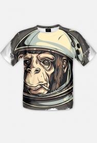 Fullprint - Monkey - koszulka z pełnym nadrukiem