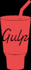 Gulp kubek - dziwneumniedziala.com - koszulki dla grafików