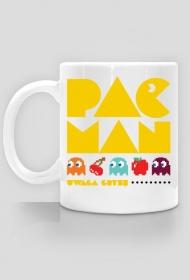 Kubek - Pac Man - uwaga gryzę - dziwneumniedziala.cupsell.pl - koszulki i kubki informatyczne