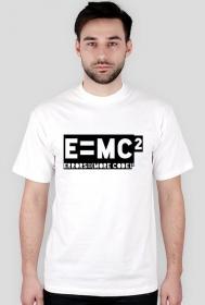 Koszulka - e=mc2 - errors = (more code)2 - koszulki informatyczne, koszulki dla programisty i informatyka - dziwneumniedziala.cupsell.pl