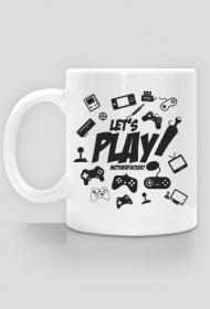 Kubek - Let's play motherfucker  - koszulki informatyczne, koszulki dla programisty i informatyka - dziwneumniedziala.cupsell.pl