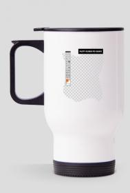 Kubek termiczny 2 - Pusty kubek po kawie - kubki termiczne, kubki na kawę, kubki komputerowe, informatyczne