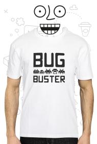 Koszulka - Bug Buster - koszulki informatyczne, koszulki dla programisty i informatyka
