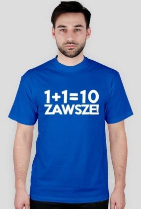 Koszulka - 1+1=10 - dziwneumniedziala.com - koszulki dla informatyków