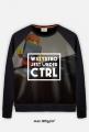 Fullprint Bluza - Wszystko jest under CTRL -  - koszulki, bluzy, kubki dla programistów