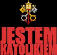 KUBEK CZERWONY NAPIS - NIEBIESKI NAPIS