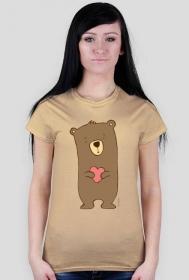 Zakochany Miś - koszulka