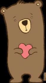Zakochany Miś - bodziak