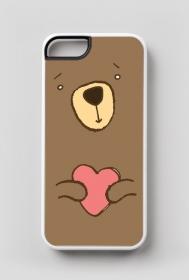 Zakochany Miś - case na iPhone5