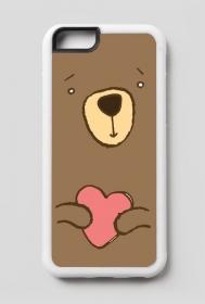 Zakochany Miś - case na iPhone6