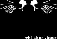 Koszulka whisker.beer damska czarna