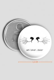 Otwieracz whisker.beer