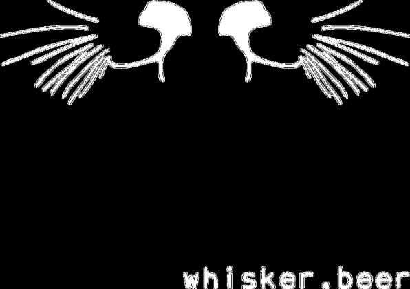Koszulka whisker.beer czarna