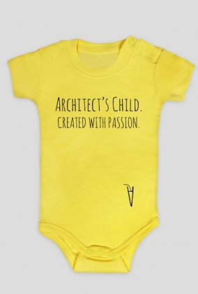 Architect's child. Created with passion