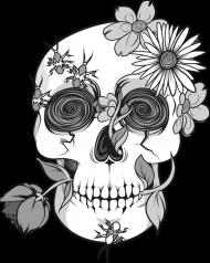 Flower Skull men