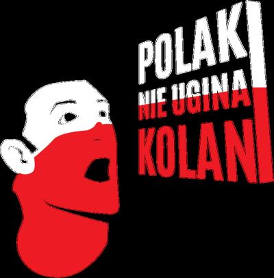 Polak nie ugina kolan! - EURO 2016 (koszulka dziecięca)