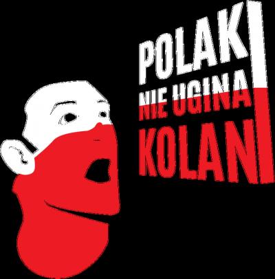 Polak nie ugina kolan! - EURO 2016 (bluza damska)