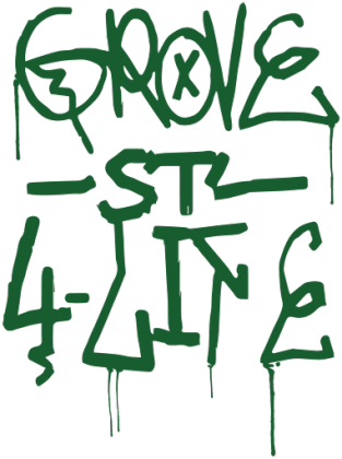 Grove St. 4 Life #1 (Podkładka)