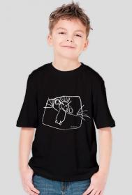 ZuzaD. koszulka czarna
