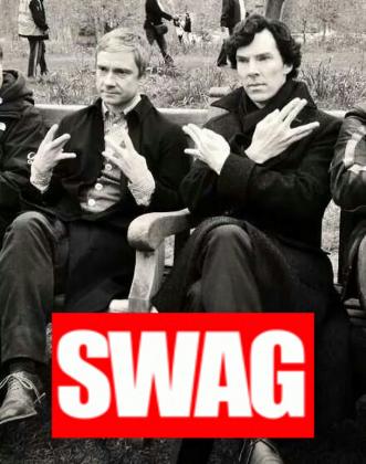Sherlock - swag