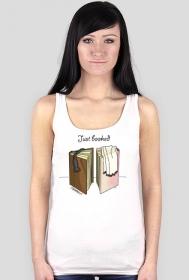 Koszulka damska Just booked
