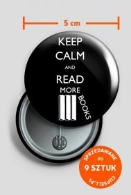 Przypinka Keep calm