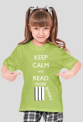 Koszulka dziewczęca Keep calm