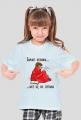 Koszulka dziewczęca Zamiast kichania weź się do czytania