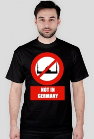 No for Islam in Germany T-Shirt