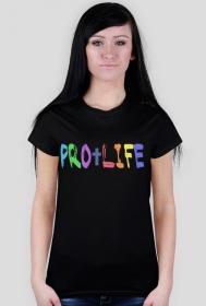 PRO LIFE koszulka damska