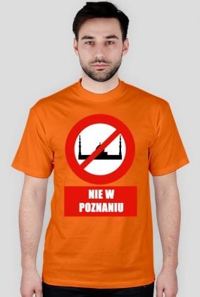 Koszulka NIE DLA ISLAMU w Poznaniu