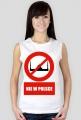 Koszulka NIE DLA ISLAMU w Polsce Damska Koszulka