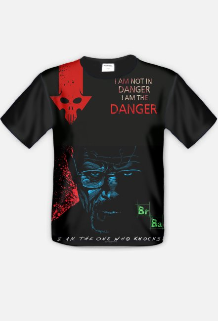 T shirt Breaking Bad Danger