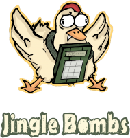 CSGO: Jingle Bombs (Damska V-Neck)