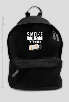 Smoke Mid Everyday - Czarny plecak
